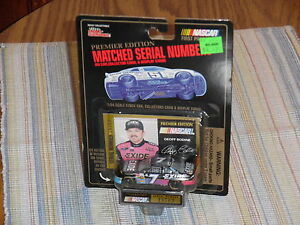 1995 EXIDE-Geoff Bodine Ford-1/64 NASCAR diecast. Premier Edition car
