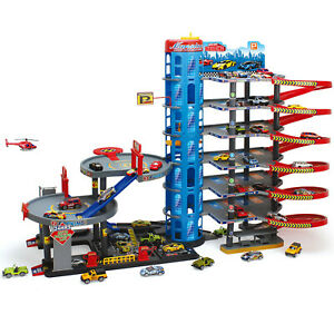 Parkgarage Parktower Spielzeug Kinder Autogarage Parkhaus Garage Spielzeugautos
