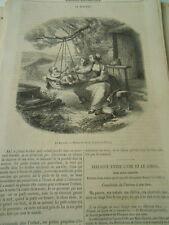 Le Berceau 1855 Gravure Oldp Print