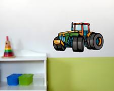 Buntes Trecker Wandtattoo Digitaldruck Traktor Wandsticker Wandaufkleber Sticker