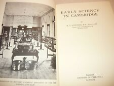 Early Science In Cambridge,R.T.Gunther,Sci entific Instruments,Research
