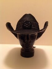"Western Cowgirl ""Whittall & Shon"" Black With Beads! Very Stunning!!!"