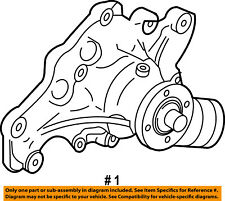FORD OEM-Engine Water Pump 4C3Z8501B