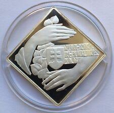 Slovakia 2003 10th Anniversary of Republic 1000 Korun Silver Coin Proof