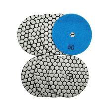 Dry Diamond Marble Polishing Pads Diameter Resin BondsHav Flexible Granite 4inch