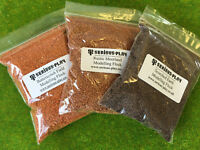 S-P The Brown Scatter Flock Set - Mixed Shades Scenery Miniature Wargames Base
