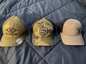 Easton, Vortex, Full Metal jacket Hat Lot!
