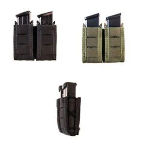 HSGI High Speed Gear 41PT02 Duty U-MOUNT DOUBLE Pistol Taco Mag Pouch All Colors