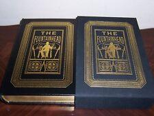 Easton Press Limited Ed. Ayn Rand's FOUNTAINHEAD -Dennis Lyall & Victoria Vebell