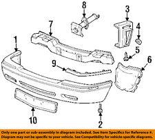 Cadillac GM OEM 95-02 Eldorado Front Bumper-Rub Strip Left 3541499