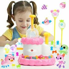 VATOS Kids Crafts for Girls Toys Age 3 4 5 6 7 8 9 Sticky Bubble Assemble Game