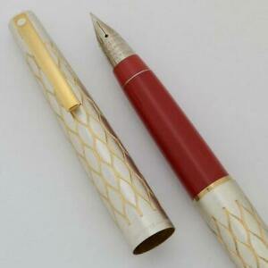 Lady Sheaffer 642 Fountain Pen ('75) - Satin Tulle, Extra Fine Triumph Nib (New)