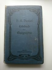 Lehrbuch der Geographie 1906