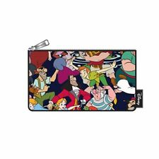 Loungefly Disney Peter Pan Zip Pouch Character Print Cosmetic/Coin Bag/Case New!