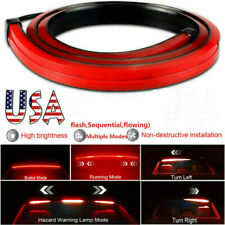 "40"" Car LED Third High Brake Signal Tail Strip Light Rear Windshield Sequential"