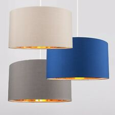 Gold lampshades and lightshades ebay modern large 45cm easy fit ceiling pendant light shade gold interior lampshades aloadofball Image collections