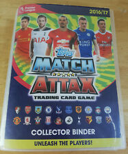 Topps Match Attax Trading Card Game Collector Binder 2016/17. 400+ Cards