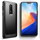 Poetic Karbon Case For OnePlus 6 Slim Shockproof Protective Cover Black