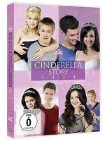 Cinderella Story Parte 1 2 3 4 Colección Cenicienta Cenicienta Caja de DVD Nuevo