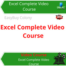 Excel Complete Video Training Course DOWNLOAD + Free Bonus