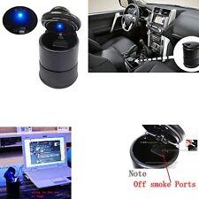 Auto Car Accessories illuminated Ashtray Ashtray With Led Light Easy Clean Black