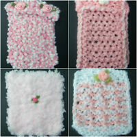 Handmade Miniature 1/12th scale dolls  Baby blanket for Cot/Pram - various