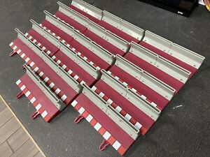 16pieces!  SCX Digital 20100 180mm Straight Border with Barrier - Used