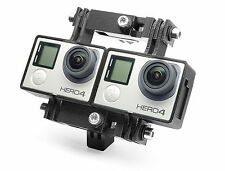 Variable 3D Connector + Tripod Mount f. GoPro HERO 4 Black Stereoscopic Zubehör