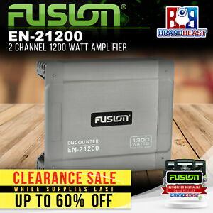Fusion EN-21200 2 Channel 1200 Watt Amplifier