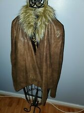International Concepts Jacket with Faux Fur Collar