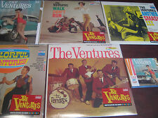 THE VENTURES  FOUR ORIGINAL ALBUMS IN MONO & COLORED VINYL STEREO 180 GRAM + CDS