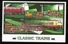 Uganda 2010 Railway Locomotive Classic Train  MNH UMM