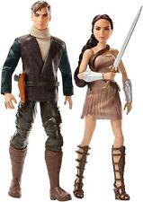 "Wonder Woman & Steve Trevor 2 pack Doll, 12"" DC - FFB34"