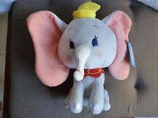 DISNEY DUMBO the Elephant Licensed  Plush Soft Toy Doll BNWT 20cm tall Dumbo