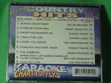 Country Hits ~Karaoke Chart Toppers~09 ~ How Do I Live? ~ I Walk the Line ~ CD+G
