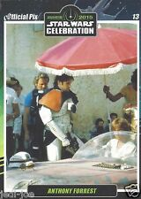 Anthony Forrest Official Pix Star Wars Autograph TradingCard Celebration Anaheim