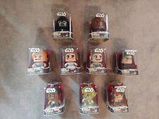 Hasbro Star Wars Mighty Muggs Lot Of 9 Yoda, Darth Vader, Chewy, Finn, Poe NIB