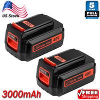 2X LBXR2036 For Black & Decker LBXR36 40V 3.0Ah Max Lithium Battery LBX1540 NEW