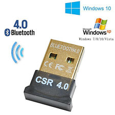 USB Bluetooth 4.0 CSR Wireless Mini Dongle Adapter For Win 7 8 10 PC Laptop. 011
