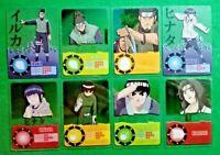 LOTTO DI 8 CARD PANINI MASASHI KISHIMOTO EDIZIONE 2002