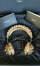 DOLCE & GABBANA x FRENDS - Swarovski crystal encrusted/gold metallic headphones