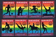 O/ 46; Ruanda, Olympiade 1976, Satz kompl. postfr.**