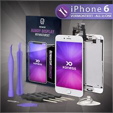 Ersatz LCD iPhone 6 Display Weiß KOMPLETT VORMONTIERT Retina Bildschirm Weiss