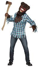 Adult Psycho Teddy Bear Costume, One Size