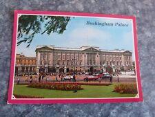 VINTAGE BUCKINGHAM PALACE LONDON POSTCARD