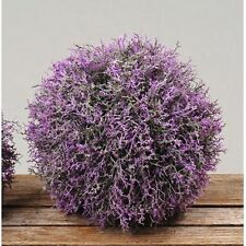 Lavendel Kugel - D20cm Künstliche Lavendelkugel, Blütenkugel, Kunstblume