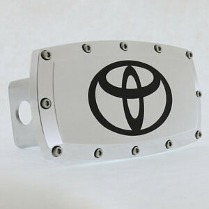 Toyota Billet Tow Hitch Cover (Chrome)