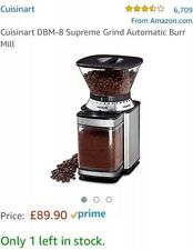 New Cuisinart coffee grinder