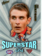 2011 Select AFL Champions Mascot Gem Card MG5 Jobe Watson (Essendon)