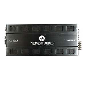 NEMESIS Audio NA-320.4 2000 Watts Max Power 4-Channel Car Audio Stereo Amplifier